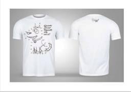 Camisas de algodão estampas dogs