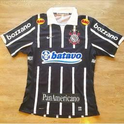 Camisa Corinthians de jogo, final copa Brasil 2009, AUTOGRAFADA!!