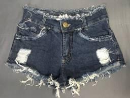 Shorts jeans no precinho