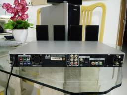System Home theater DVD 5.1 canais Samsung (defeito)