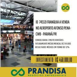 7459 Franquia alimentação no Aeroporto Afonso Pena Cwb - Grande Curitiba