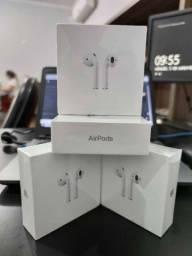 Fones sem fio Apple Airpods 2 original na caixa