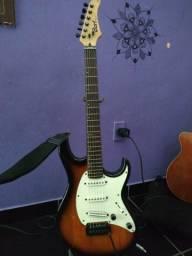 Guitarra Stratocaster Cort g200 c/ upgrades