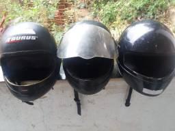 Vendo os 3 por R$80 ou troco em capacete Infantil!!!
