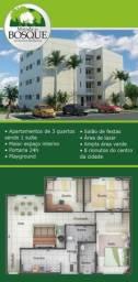 Apartamento 3 quartos - Condominio Morada do Bosque - Jardim Patricia
