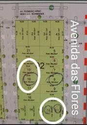 Vendo ou troco terrenos em Sapezal-MT