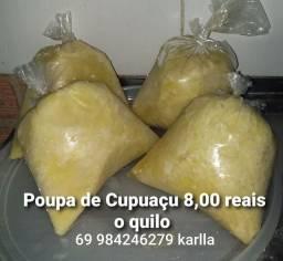 Poupa de cupuaçu 8 reais