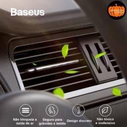 Aromatizador veicular Baseus (dura cerca de 6 meses)