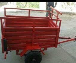 Vendo carroça  pra moto seminova