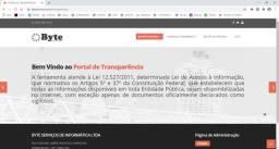 Portal de transparência em Asp clássico