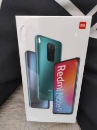 Redmi Note 9.. IMPERDÍVEL PROMOÇÃO! Novo LACRADO com Garantia e Entrega hj
