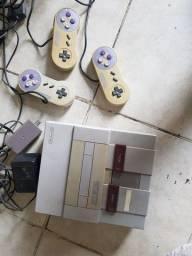 Super Nintendo e acessórios originais!!