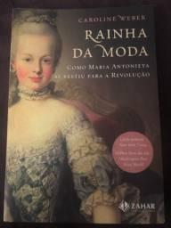 Livro Rainha da Moda