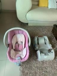 Bebê conforto + Base Galzerano