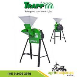 Frete Grátis - Forrageiro Picador Triturador Trapp TRF-50 com Motor 1,5cv