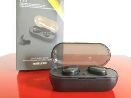 Fones De Ouvido Y30 Tws Bluetooth 5.0 Sem Fio Intra-Auricular
