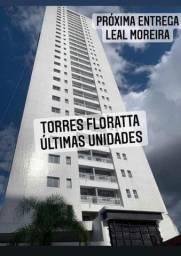 Torres Florata no coração do Marco, 141 metros 3 suítes, Na Av. Rômulo Maiorana