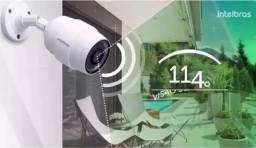Camera De Segurança Ic5 - Uso Int/externo Ip66 - Wifi Bivolt