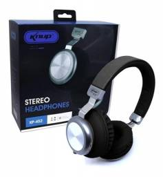 Headset Bluetooth Knup Microfone Fm Micro Sd Kp-452 - Loja Natan Abreu