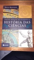 Livro Textos básicos de Filosofia e História das Ciências