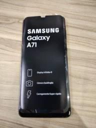 Samsung A 71 novo na caixa.