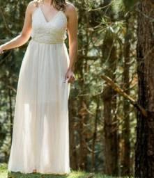 Vestido branco Lindo! Act Troca