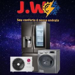 AR condicionado,máquina de lavar ,geladeira e Elétrica