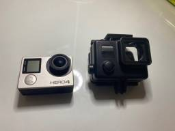GoPro Hero 4 Silver com carregador e acessórios originais nunca usados