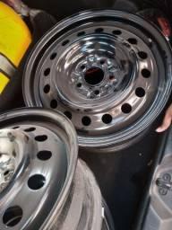 Roda aro de ferro 17