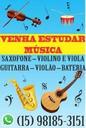 Aulas de música virtuais