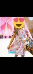 Vestido infantil Tam 6 anos da marca Sucré usado somente 1 vez
