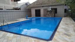 Casa em 2 Lotes com Piscina no Ruínas a 400 metros da praia - CA0021