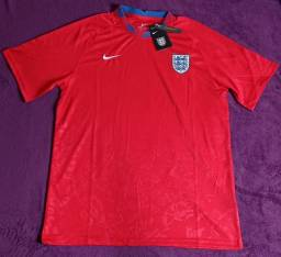 Camisa da Inglaterra vermelha (disponível: GG)