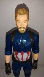 Boneco Capitão América 30cm Hasbro