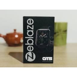 Smartwatch Zeblaze GTS Faz Chamadas Muda Foto Tela Touch Android IOS Versão Global