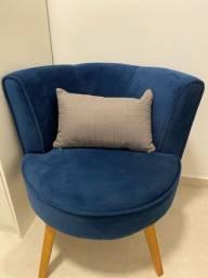 Poltrona azul