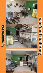 Instalações de lanchonete completa R$10.000