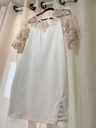 Vestido Plus Size Branco (novo)