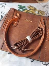 Bolsa de marca couro legítimo Stephanie $ 150