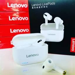 Fone De Ouvido Sem Fio Lenovo Lp1s