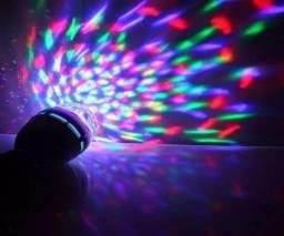 Luminária Bola Maluca Giratória 360°