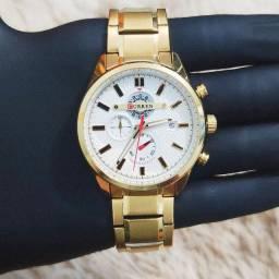 Relógio masculino original Curren todo funcional