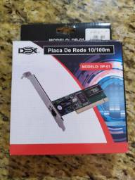 Placa de rede Dex 10/100