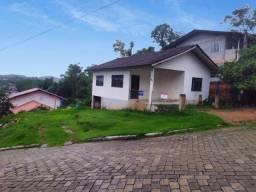 Terreno com casa escriturado - 400m²