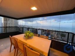 Apartamento com 4 dormitórios à venda, 265 m² por R$ 1.300.000,00 - Manaíra - João Pessoa/