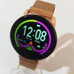 Smartwatch feminino - monitoramento completo e notificação