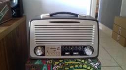 Rádio am fm usb Cartão sd tf retro