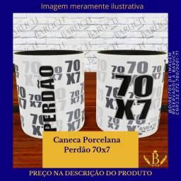 Caneca porcelana Cristã - Baruch