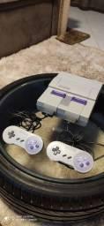 Super Nintendo 2 controles e 7 jogos
