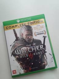 Xbox ONE   The Witcher 3 Wild Hunt - Complete Edition - Bem conservado